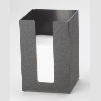 CLM63513 - Cal-Mil - 635-13 - 5 in x 5 in Black Napkin Dispenser Product Image