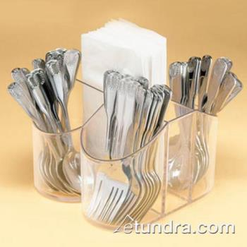 CLM910 - Cal-Mil - 910 - 4 Section Flatware and Napkin Dispenser Product Image