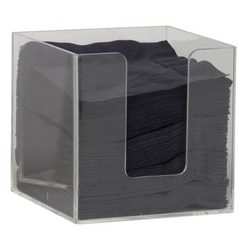 ESP05287 - Espresso Supply - 05287 - 4 1/4 in x 4 1/4 in Napkin Holder Product Image
