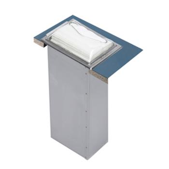 SANH2000SC - San Jamar - H2000SC - In-Counter Minfold Stainless/Chrome Napkin Dispenser Product Image
