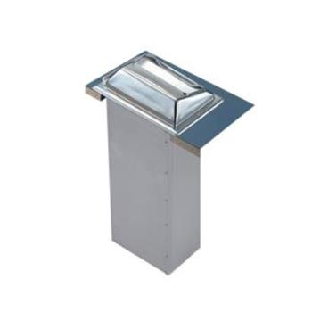 SANH2000SS - San Jamar - H2000SS - In-Counter Minfold Stainless Napkin Dispenser Product Image