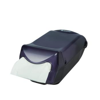 SANH5003TBK - San Jamar - H5003TBK - Venue® Interfold Black Napkin Dispenser Product Image