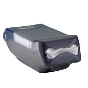 SANH5004CL - San Jamar - H5004CL - Venue® Mini Interfold Clear Napkin Dispenser Product Image