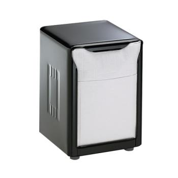 SANH985BK - San Jamar - H985BK - Tabletop Lowfold Black Napkin Dispenser Product Image