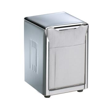 SANH985X - San Jamar - H985X - Tabletop Lowfold Stainless Napkin Dispenser Product Image