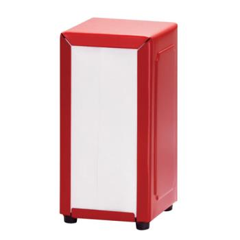 TAB2211 - Tablecraft - 2211 - Full Size Red Napkin Dispenser Product Image