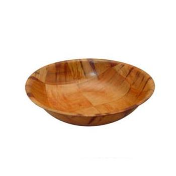 85742 - Winco - WWB-8 - 8 in Woven Wood Salad Bowl Product Image
