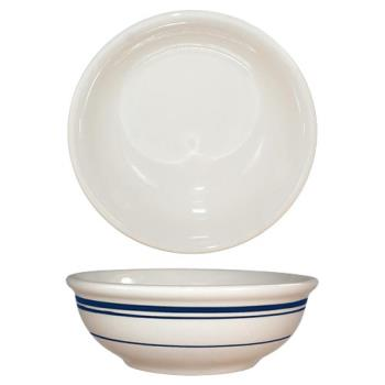 ITWCT15 - ITI - CT-15 - 12 1/2 Oz Catania™ Nappie Bowl With Blue Band Product Image