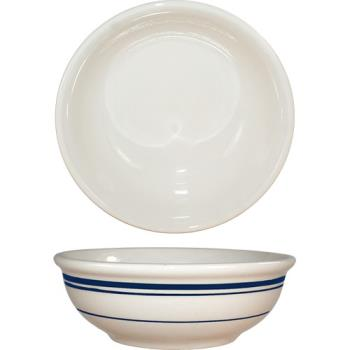 ITWCT24 - ITI - CT-24 - 10 Oz Catania™ Nappie Bowl With Blue Band Product Image