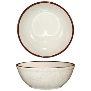 ITWGR24 - ITI - GR-24 - 10 Oz Granada™ Brown Speckled Nappie Bowl Product Image