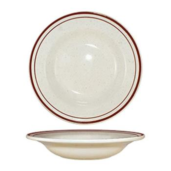 ITWGR3 - ITI - GR-3 - 12 Oz Granada™ Brown Speckled Deep Rim Soup Bowl Product Image