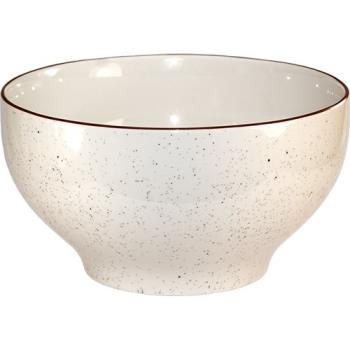 ITWGR45 - ITI - GR-45 - 140 oz Granada™ Brown Speckled Footed Bowl Product Image