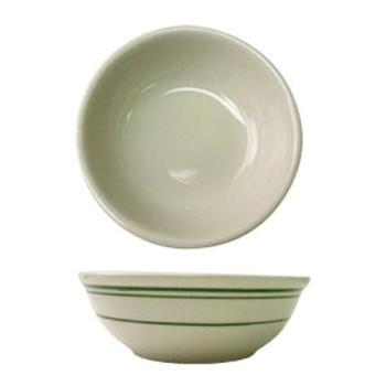 ITWVE24 - ITI - VE-24 - 10 Oz Verona™ Nappie Bowl With Green Band Product Image