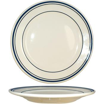 "ITWCT16 - ITI - CT-16 - Catania™ 10 1/4"" Plate w/Blue Band Product Image"