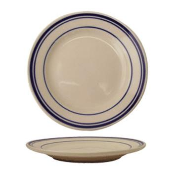 "ITWCT20 - ITI - CT-20 - Catania™ 11"" Plate w/Blue Band Product Image"