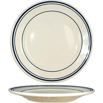 "ITWCT5 - ITI - CT-5  - Catania™ 5 1/2"" Plate w/Blue Band Product Image"