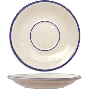 ITWDA2 - ITI - DA-2 - 6 in Danube™ Blue Speckled Saucer Product Image