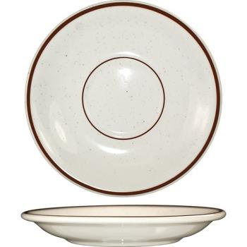 ITWGR2 - ITI - GR-2 - 6 in Granada™ Brown Specked Saucer Product Image