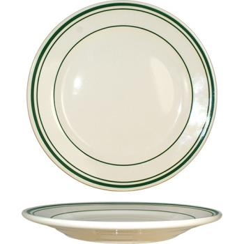 ITWVE21 - ITI - VE-21 - 12 in Verona™ Plate With Green Band Product Image