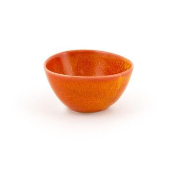 FOHDBO141ORP23 - Front Of The House - DBO141ORP23 - 7 oz Kiln® Blood Orange Bowl Product Image