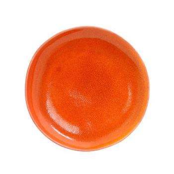 FOHDOS029ORP22 - Front Of The House - DOS029ORP22 - 11 in Round Kiln® Blood Orange Plate Product Image