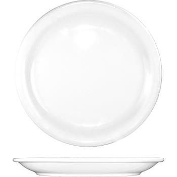 81349 - ITI - BR-7 - 7 1/4 in Brighton™ Porcelain Plate Product Image