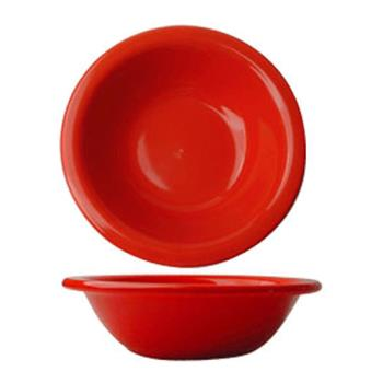ITWCA10CR - ITI - CA-10-CR - 10 Oz Cancun™ Crimson Red Grapefruit Bowl With Rolled Edge Product Image