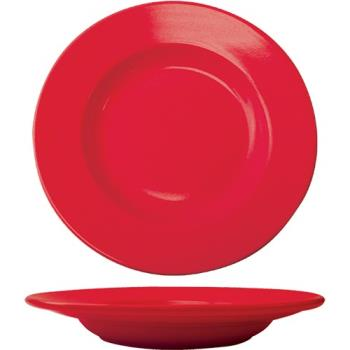 ITWCA120CR - ITI - CA-120-CR - 20 Oz Cancun™ Crimson Red Pasta Bowl With Rolled Edge Product Image