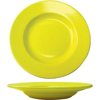 ITWCA120Y - ITI - CA-120-Y - 20 Oz Cancun™ Yellow Pasta Bowl With Rolled Edge Product Image