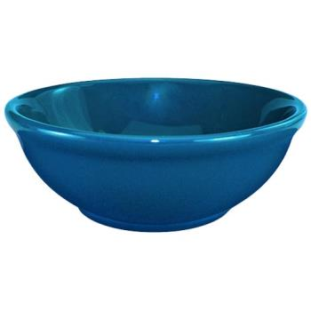 ITWCA15LB - ITI - CA-15-LB - 12 1/2 Oz Cancun™ Light Blue Nappie Bowl With Rolled Edge Product Image