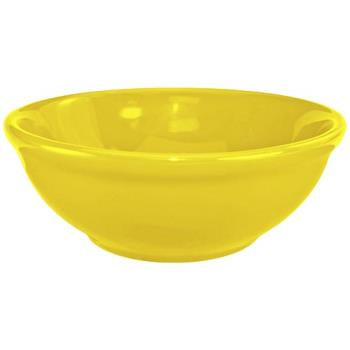 ITWCA15Y - ITI - CA-15-Y - 12 1/2 Oz Cancun™ Yellow Nappie Bowl With Rolled Edge Product Image