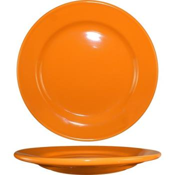 ITWCA16O - ITI - CA-16-O - 10 1/4 in Cancun™ Orange Rolled Edge Plate Product Image