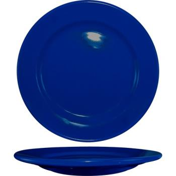 ITWCA21CB - ITI - CA-21-CB - 12 in Cancun™ Cobalt Blue Rolled Edge Plate Product Image