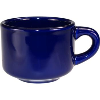 ITWCA23CB - ITI - CA-23-CB - 7 1/2 oz Cancun™ Cobalt Blue Stackable Teacup Product Image