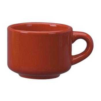ITWCA23CR - ITI - CA-23-CR - 7 1/2 Oz Cancun™ Crimson Red Stack-able Teacup Product Image