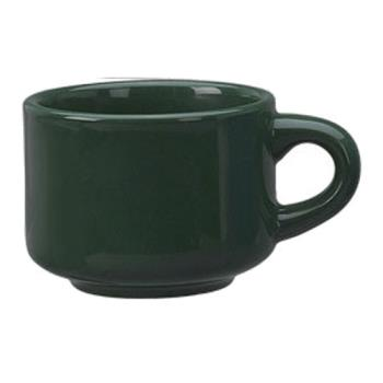 ITWCA23G - ITI - CA-23-G - 7 1/2 Oz Cancun™ Green Stack-able Teacup Product Image