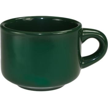 ITWCA23G - ITI - CA-23-G - 7 1/2 oz Cancun™ Green Stackable Teacup Product Image