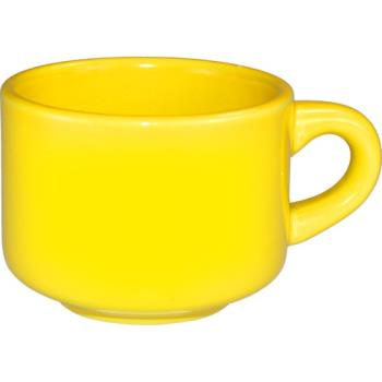 ITWCA23Y - ITI - CA-23-Y - 7 1/2 oz Cancun™ Yellow Stackable Teacup Product Image