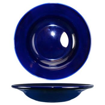 ITWCA3CB - ITI - CA-3-CB - 12 Oz Cancun™ Cobalt Blue Deep Rim Soup Bowl With Rolled Edge Product Image