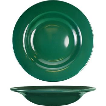ITWCA3G - ITI - CA-3-G - 12 Oz Cancun™ Green Soup Deep Rim Bowl With Rolled Edge Product Image