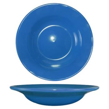 ITWCA3LB - ITI - CA-3-LB - 12 Oz Cancun™ Light Blue Deep Rim Soup Bowl With Rolled Edge Product Image