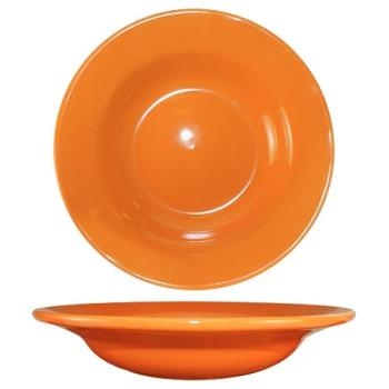 ITWCA3O - ITI - CA-3-O - 12 Oz Cancun™ Orange Deep Rim Soup Bowl With Rolled Edge Product Image