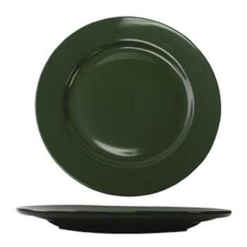 ITWCA6G - ITI - CA-6-G - 6 5/8 in Cancun™ Green Rolled Edge Plate Product Image