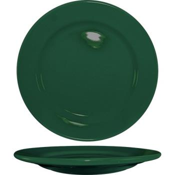 ITWCA8G - ITI - CA-8-G - 9 in Cancun™ Green Rolled Edge Plate Product Image
