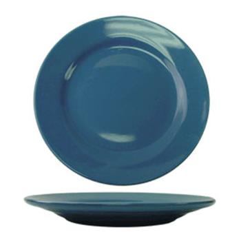 ITWCA9LB - ITI - CA-9-LB - 9 3/4 in Cancun™ Light Blue Rolled Edge Plate Product Image