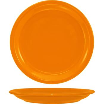 ITWCAN16O - ITI - CAN-16-O - 10 1/2 in Cancun™ Orange Plate with Narrow Rim Product Image