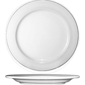 59124 - ITI - DO-8 - Dover™ 9 in Porcelain Plate Product Image