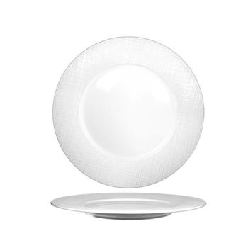 ITIDR21 - International Tableware - DR-21 - 11 3/4 in Dresden Porcelain Plate Product Image