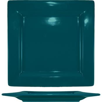 ITIEL10BB - ITI - EL-10-BB - 10 3/4 in Elite Harvest Blue Square Plate Product Image