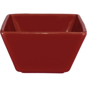 ITIEL11RH - ITI - EL-11-RH - 8 Oz Harvest™ Red Square Bowl Product Image
